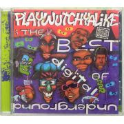 CD The Best Of Digital Underground - Playwutchyalike - Lacrado - Importado