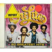 CD The Chi-Lites - 20 Greatest Hits - Lacrado - Importado