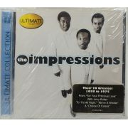 CD The Impressions - Ultimate Collection - Lacrado Importado
