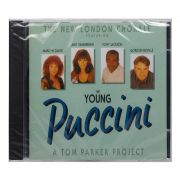 CD The New London Chorale - The Young Puccini - Importado - Lacrado
