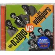 CD The OJays Vs The Whispers - Lacrado - Importado