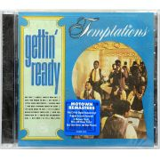 CD The Temptations - Gettin' Ready - Lacrado - Importado