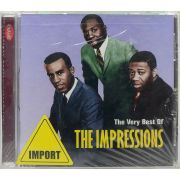 CD The Very Best Of The Impressions - Lacrado - Importado