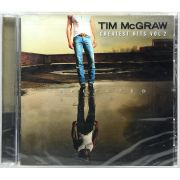 CD Tim Mcgraw - Greatest Hits Vol 2 - Lacrado - Importado