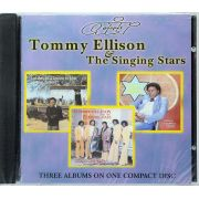 CD Tommy Ellison & The Singing Stars - 3 Albuns em 1 - Lacrado - Importado