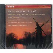 CD Vaughan Williams - Fantasia On A Theme By Thomes Tallis - Importado - Lacrado