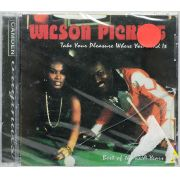 Cd Wilson Pickett - Take Pleasure Where You Find It - Lacrado - Importado