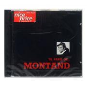 CD Yves Montand - Le Paris de Montand - Importado - Lacrado