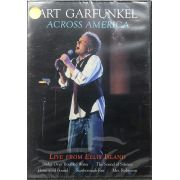 DVD Art Garfunkel - Across America Live From Ellis Island - Lacrado - Importado