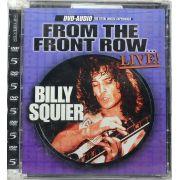 DVD-Audio Billy Squier - Front The Front Row Live - Lacrado - Importado