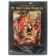 DVD Bach: St. Matthew Passion - Guttenberg, Neubeuern - Lacrado - Importado