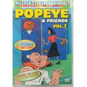 DVD Children's Cartoon Favorites Popeye & Friends Vol.1 - Lacrado - Importado
