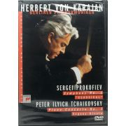 DVD Herbert Von Karajan Berliner Philharmoniker - Sergei Prokofiev - Tchaikovsky - Lacrado - Importado