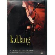 DVD K.D.Lang Harvest Of Seven Years - Lacrado - Importado