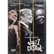 DVD McRae Tormé Rushing - Jazz Casual Vocals Vol 1 - Importado