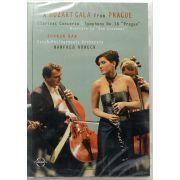 DVD Mozart Gala From Prague - Sharon Kam manfred Honeck - Lacrado - Importado
