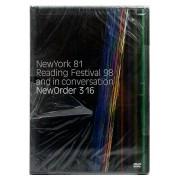 Dvd New Order 316 New York 81 Reading Festival 98 - Importado - Lacrado