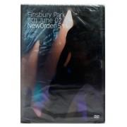 DVD New Order: 511 - Finsbury Park 9th June 02 - Importado - Lacrado