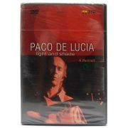 DVD Paco de Lucia - Light And Shade - Importado - Lacrado
