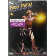 DVD Rick James - Super Freak Live 1982 - Lacrado - Importado