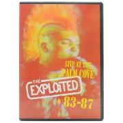 DVD The Exploited - Live At The Palm Cove & 83-87 - Importado