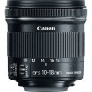 Lente Canon EF-S 10-18MM F/4.5-5.6 IS STM - Image Stabilizer