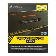 Memoria Corsair Vengeance Led 32GB (2X16GB) DDR4 3000MHZ BLACK - CMU32GX4M2C3000C15R