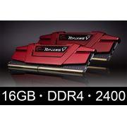 Memoria G.Skill 16GB 2x 8GB Ripjaws V Ddr4 2400mhz - Blister - F4-2400C15D-16GVR