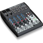 Mesa de Som Mixer Behringer Xenyx 802 220V 6 Canais Nova NF