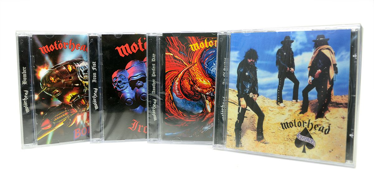 4 Cds Motorhead - Ace of Spades - Another Perfect Day - Iron Fist - Bomber - Lacrado