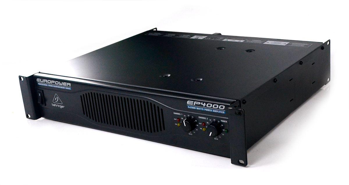Amplificador de Potência Behringer Europower EP4000 2x2000W