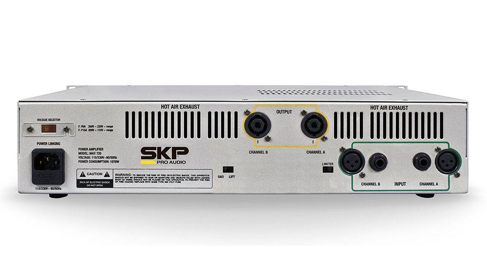 Amplificador de Potência Skp Pro Audio Max-320 300W Novo NF