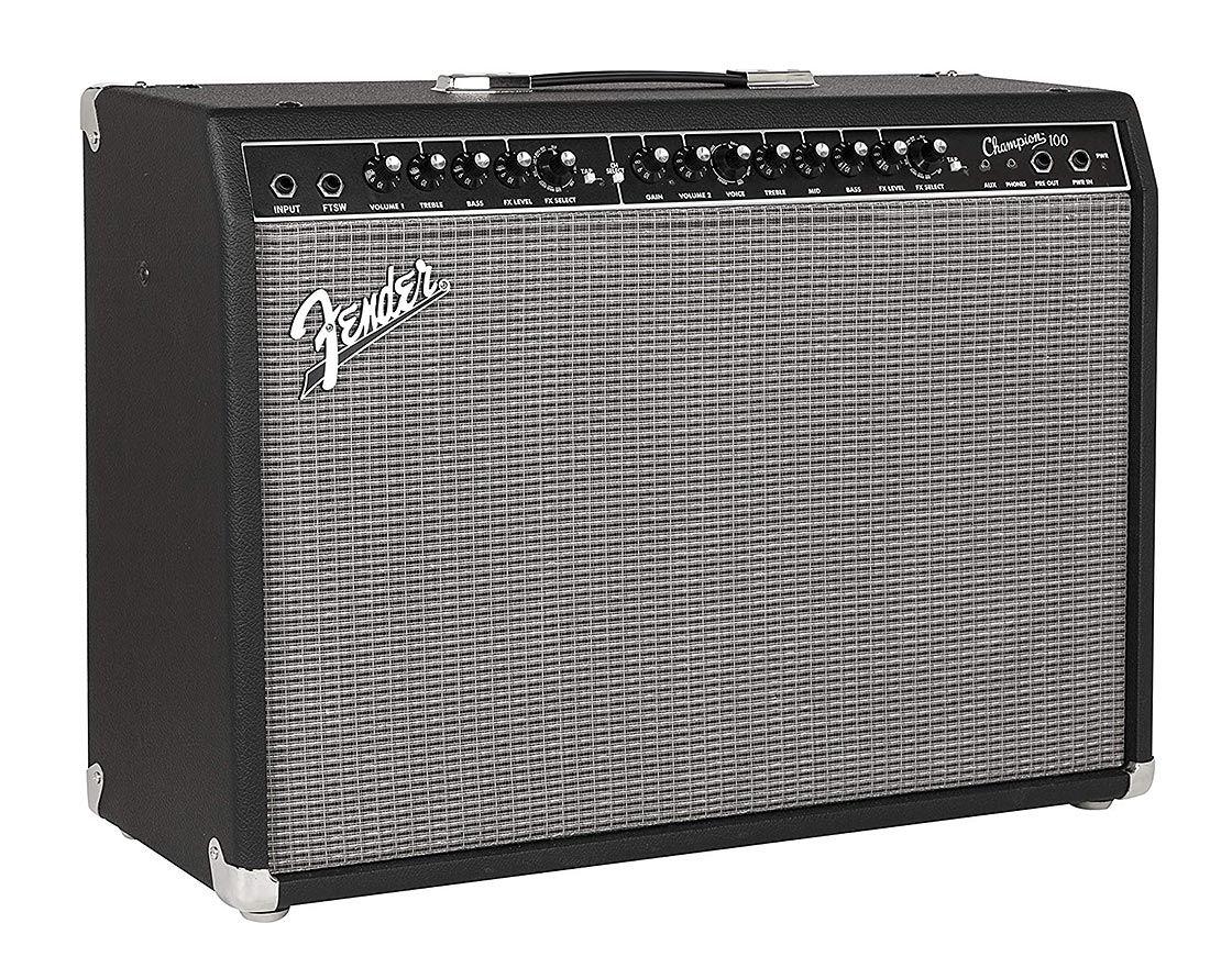 Amplificador P/ Guitarra Fender Champion 100 | 2 Canais | 100W | FX Loop - 220V