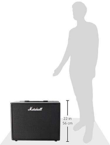 Amplificador p/ Guitarra Marshall Code 50 50w - Bivolt