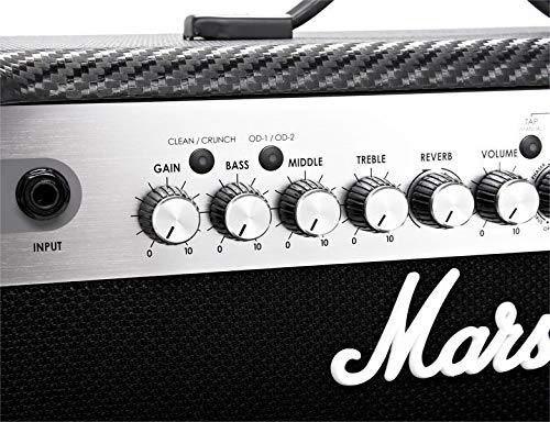 Amplificador P/ Guitarra Marshall MG30CFX 30W - Reverb Phaser Flanger Delay Chorus - 220V