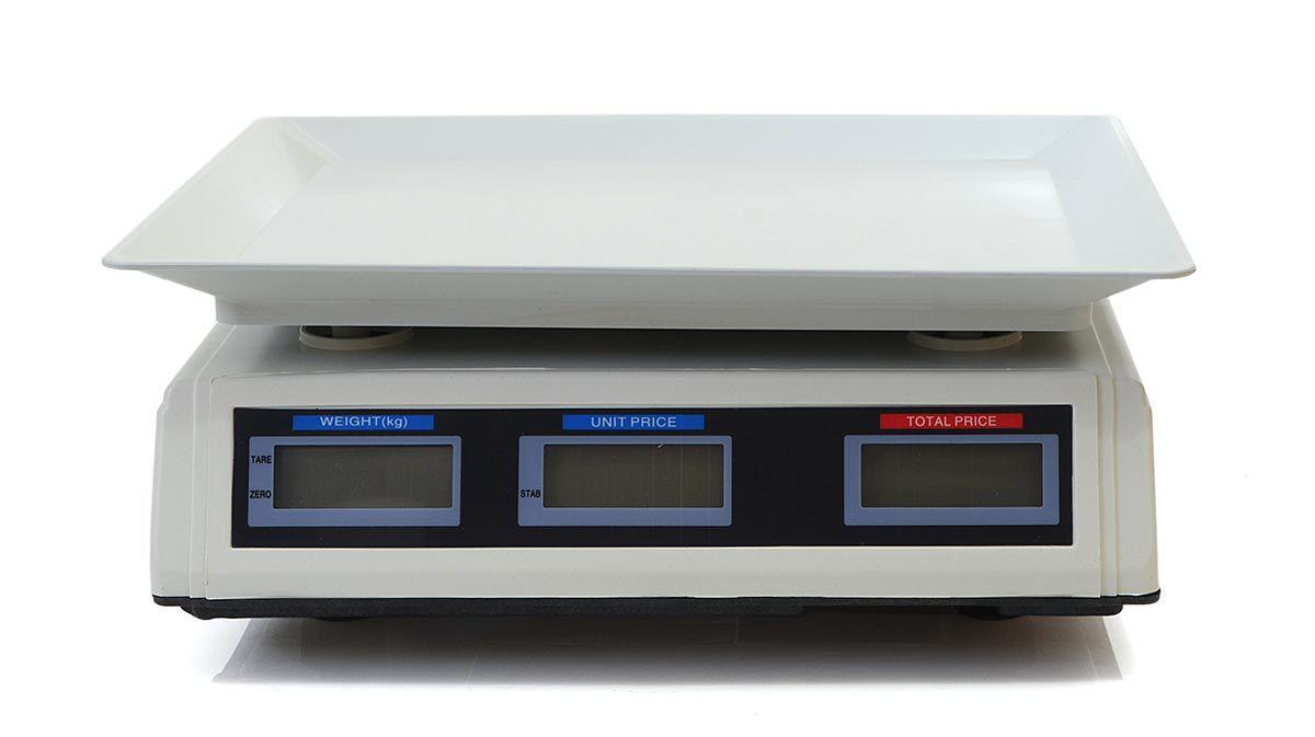 Balança Digital 40KG 220V c/ Bateria