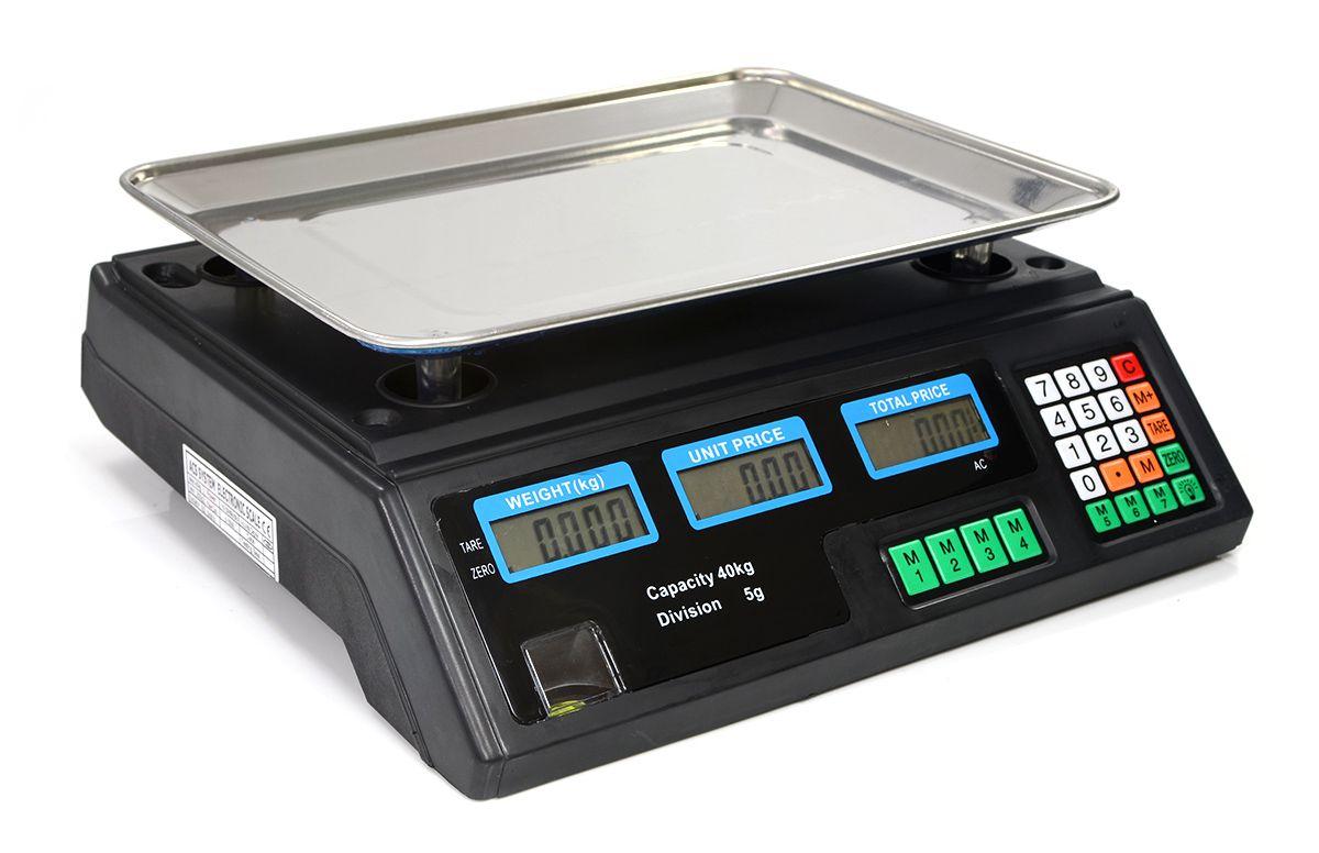 Balança Digital 40KG c/ Bateria Bivolt
