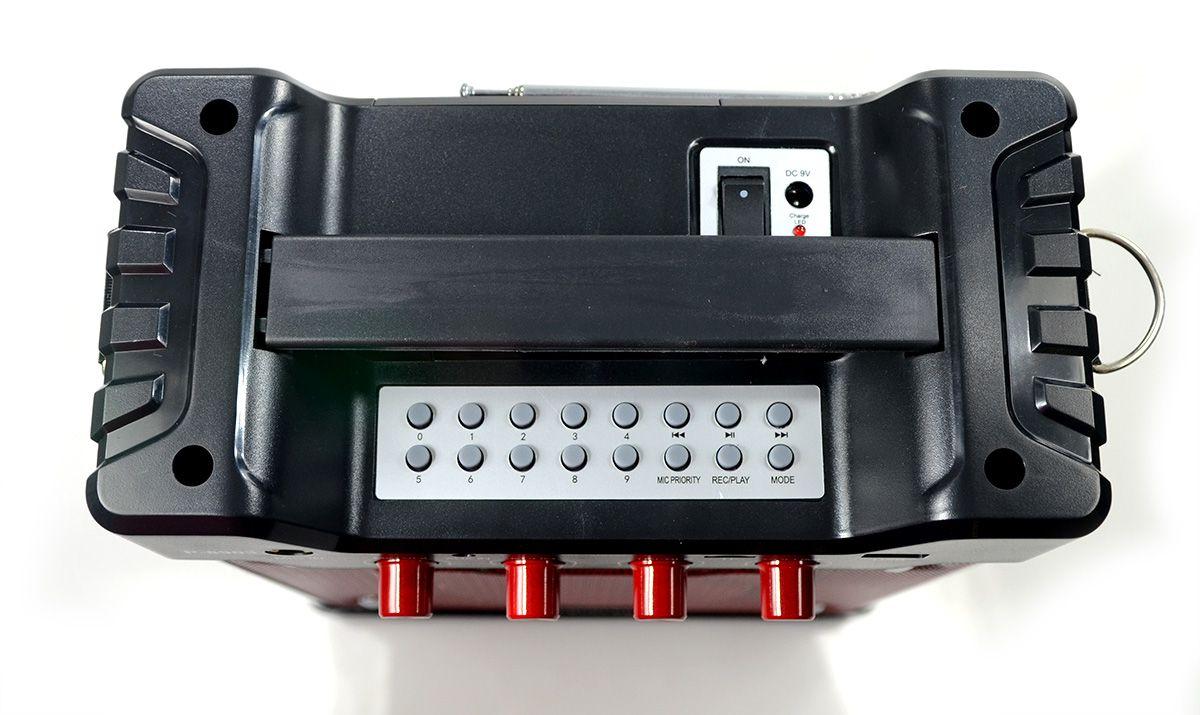 Caixa de Som Prosper P-8903 Bluetooth USB Auxiliar - Vermelho