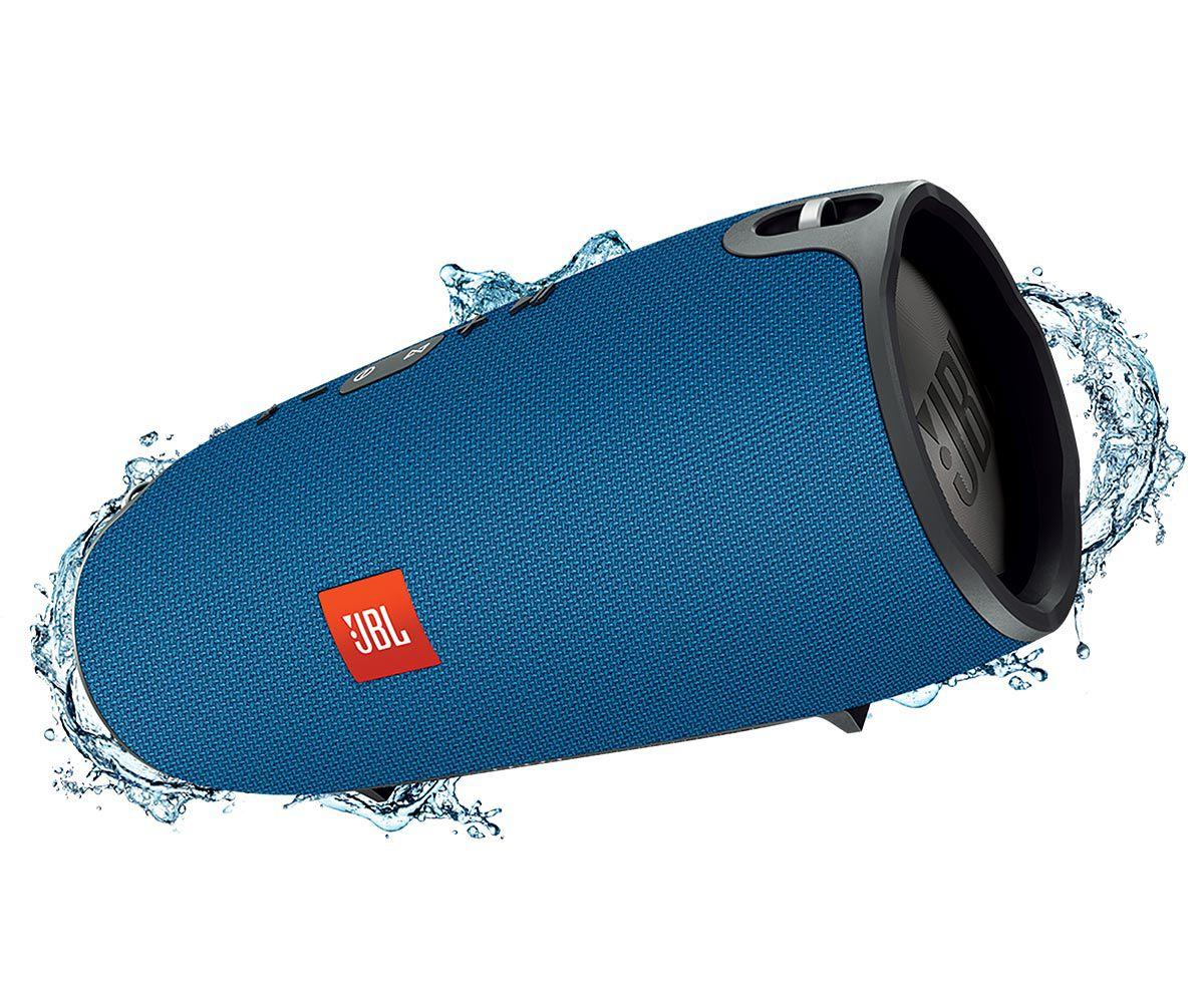 Caixa Som Bluetooth Jbl Xtreme Portátil Resistente Água - AZUL