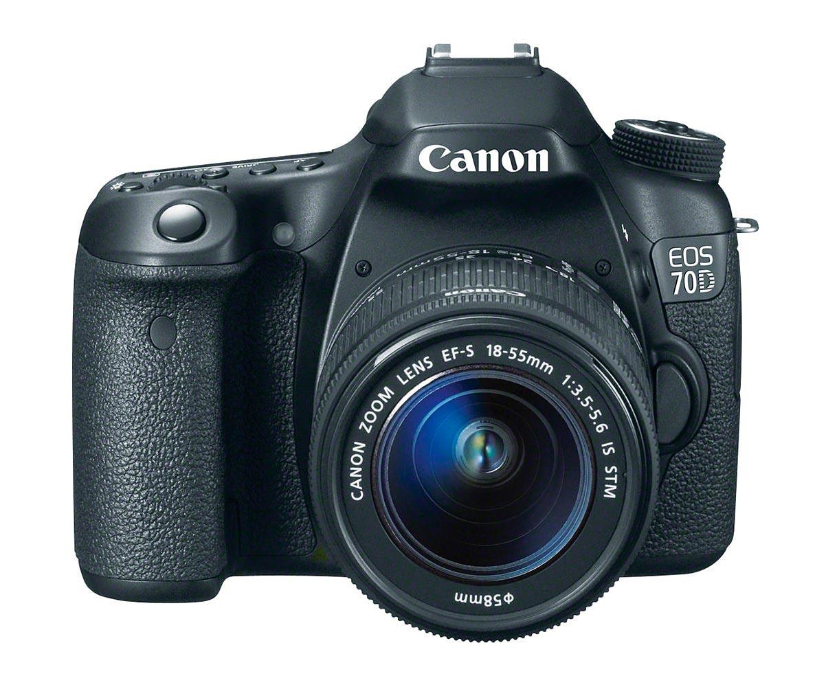 Câmera DSLR Canon EOS 70D 20.2mp LCD Touch 3