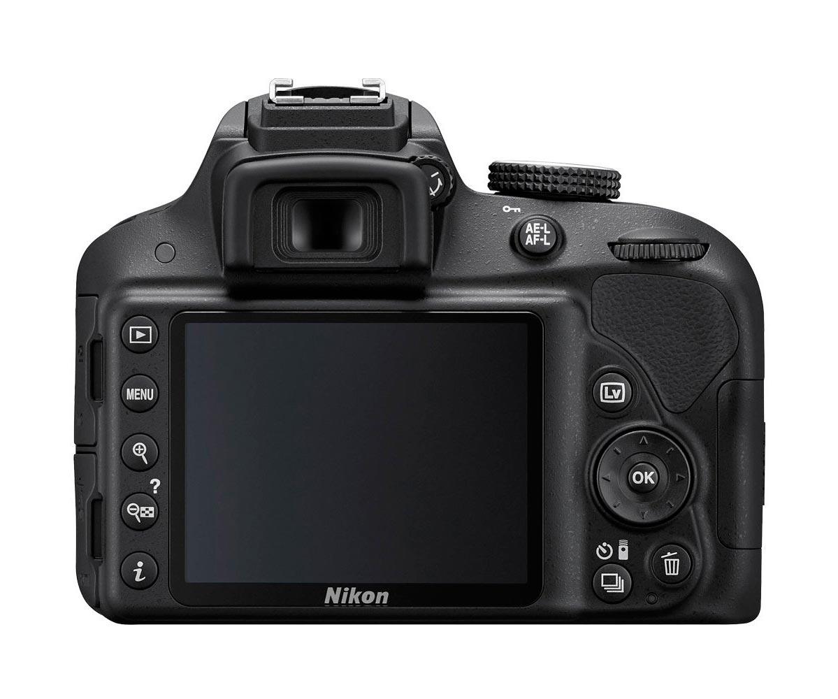 Câmera DSLR Nikon D3300 24.2mp LCD 3