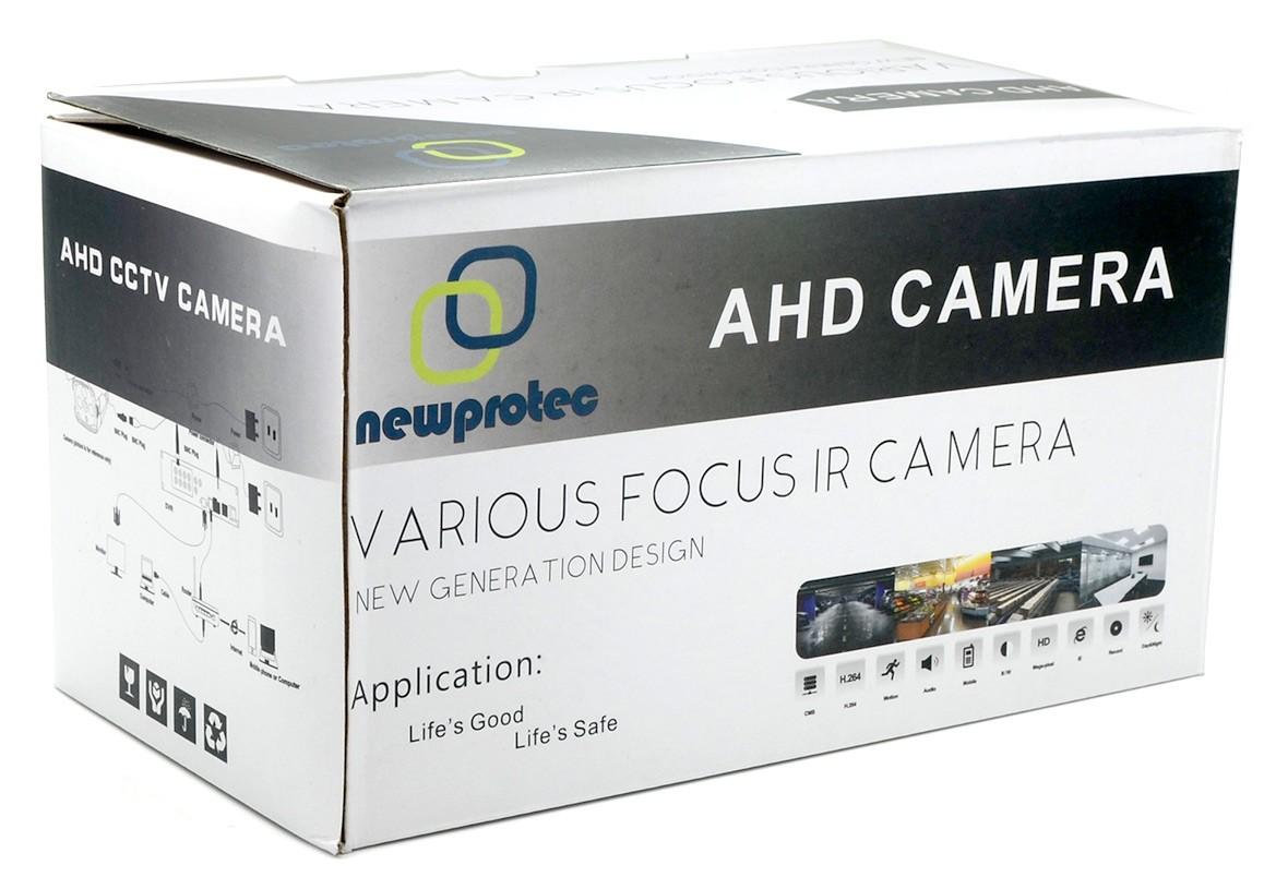 Câmera Segurança Infravermelho AHD 2500TV Linhas Newprotec NP8000