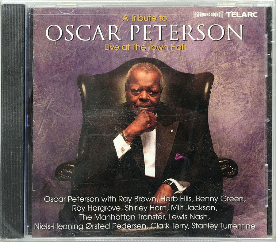 CD A Tribute To Oscar Peterson - Live At The Town Hall - Lacrado - Importado