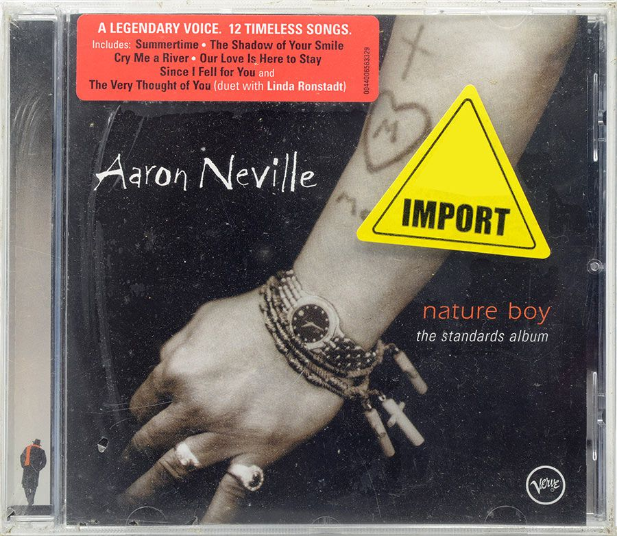 CD Aaron Neville - Nature Boy The Standards Album - Lacrado - Importado