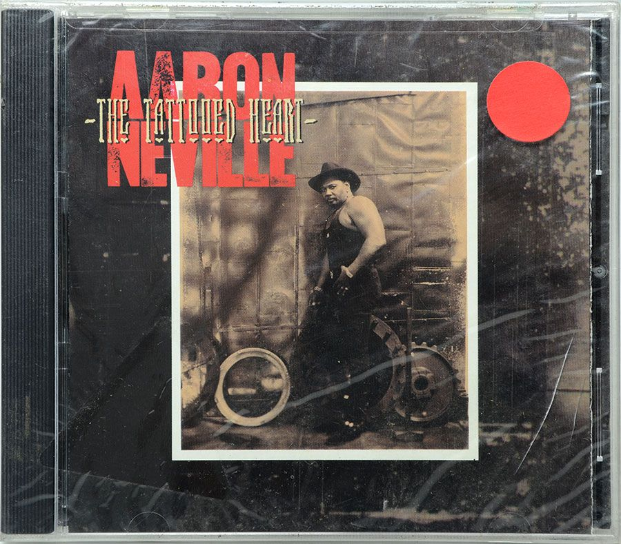 CD Aaron Neville - The Tattooed Heart - Lacrado - Importado