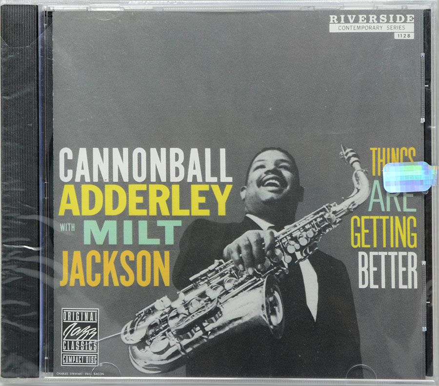CD Adderley / Jackson - Things Are Getting Better - Lacrado - Importado