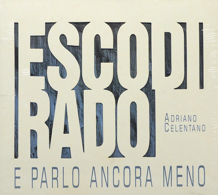 Cd Adriano Celentano - Esco Di Rado e Parlo Ancora Meno - Lacrado - Importado