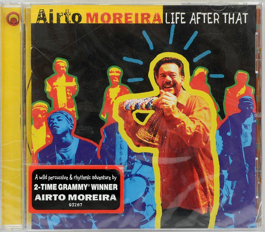 CD Airto Moreira - Life After That - Lacrado - Importado