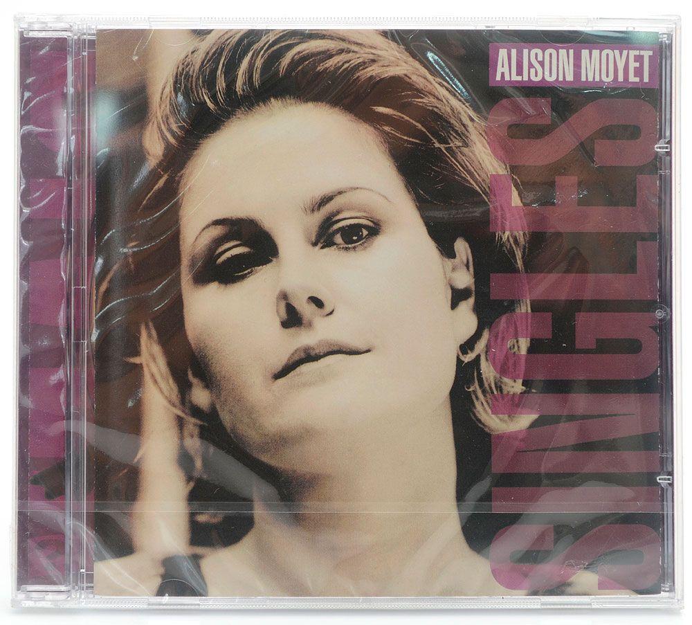 CD Alison Moyet - Singles - Importado - Lacrado