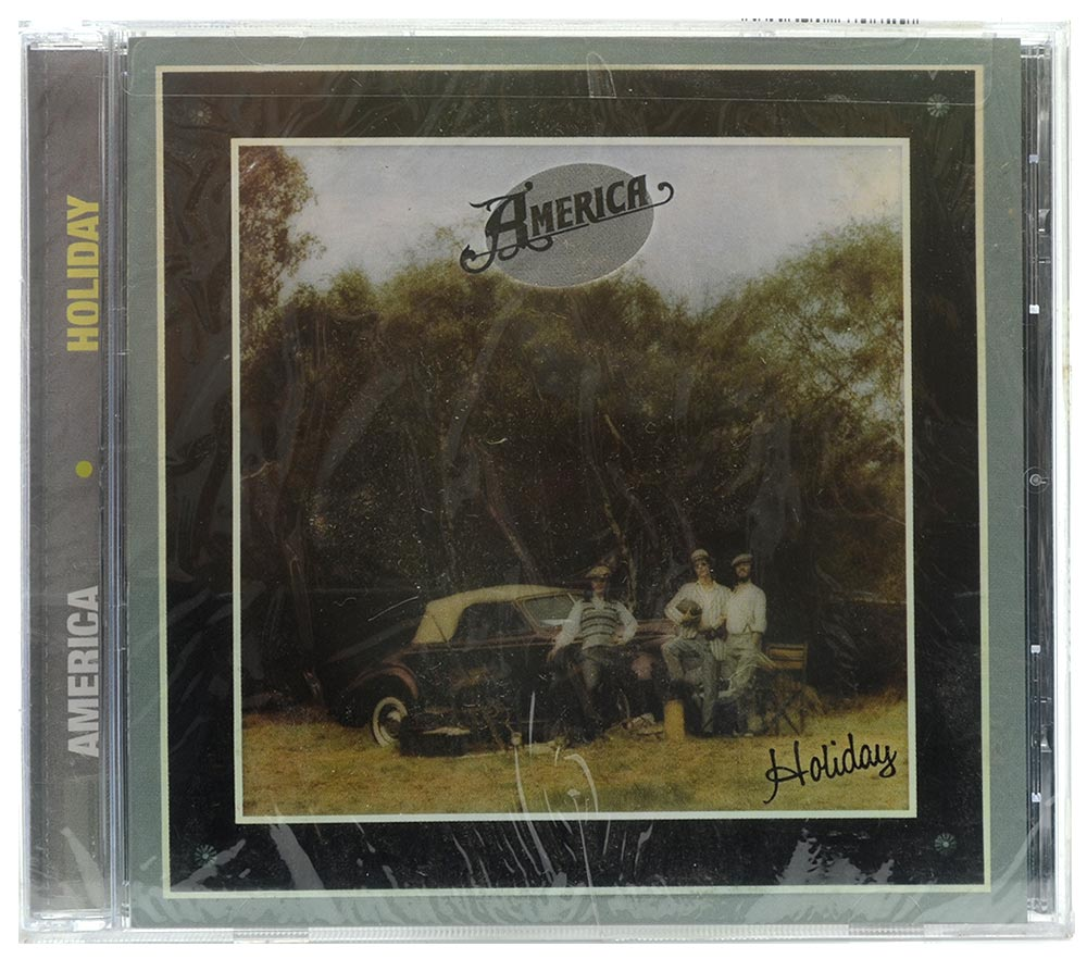 CD America - Holiday - Importado - Lacrado